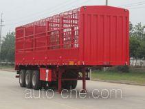 开乐牌AKL9384XCY型仓栅式运输半挂车