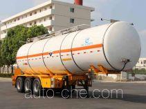 Kaile AKL9400GFWA corrosive materials transport tank trailer