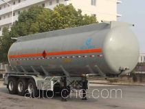 Kaile AKL9400GRYF flammable liquid aluminum tank trailer