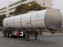 Kaile AKL9400GYSA aluminium liquid food tank trailer
