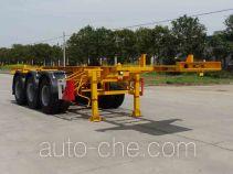 开乐牌AKL9400TJZA型集装箱运输半挂车