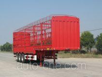 开乐牌AKL9400XCY型仓栅式运输半挂车