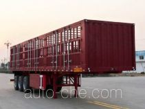 开乐牌AKL9401CCY型仓栅式运输半挂车