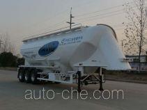 开乐牌AKL9401GFLA2型铝合金中密度粉粒物料运输半挂车