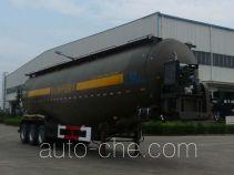 开乐牌AKL9401GFLA4型低密度粉粒物料运输半挂车