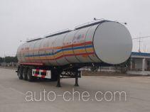 开乐牌AKL9401GHYA型化工液体运输半挂车
