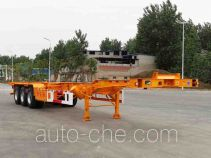 Kaile AKL9401TWY01 dangerous goods tank container skeletal trailer