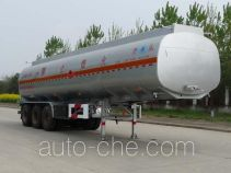 Kaile AKL9402GRY flammable liquid aluminum tank trailer