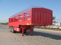 开乐牌AKL9402XCY型仓栅式运输半挂车