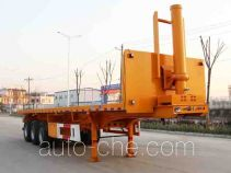 Kaile AKL9404ZZXP flatbed dump trailer