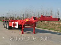 开乐牌AKL9405TJZ型集装箱运输半挂车