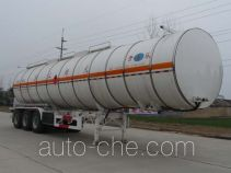 Kaile AKL9406GRY flammable liquid aluminum tank trailer