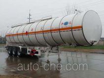 Kaile AKL9406GRYA flammable liquid aluminum tank trailer