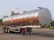 Kaile AKL9406GRYB flammable liquid aluminum tank trailer