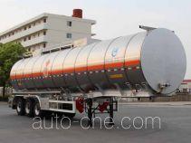 Kaile AKL9406GRYC flammable liquid aluminum tank trailer
