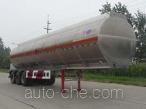 Kaile AKL9407GRY flammable liquid aluminum tank trailer
