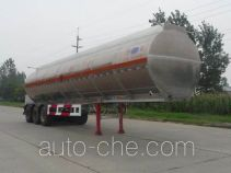 Kaile AKL9407GRYA flammable liquid aluminum tank trailer