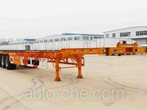 开乐牌AKL9407TJZB型集装箱运输半挂车