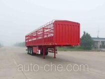 开乐牌AKL9408CCY型仓栅式运输半挂车