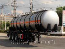 Kaile AKL9408GFW corrosive materials transport tank trailer