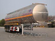 开乐牌AKL9408GHYB型化工液体运输半挂车