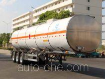 Kaile AKL9409GRY flammable liquid aluminum tank trailer