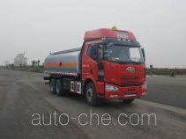Jiulong ALA5250GRYC4 flammable liquid tank truck