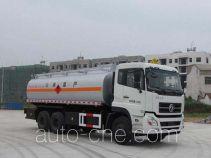 Jiulong ALA5250GRYDFL4 flammable liquid tank truck
