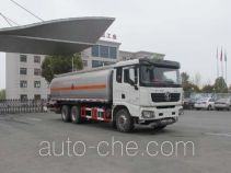 Jiulong ALA5250GRYSX5 flammable liquid tank truck