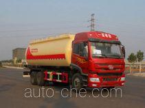 Jiulong ALA5251GFLC4 low-density bulk powder transport tank truck