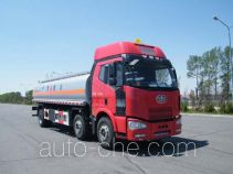 Jiulong ALA5251GRYC4 flammable liquid tank truck