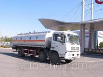 Jiulong ALA5252GRYDFL4 flammable liquid tank truck