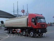 Jiulong ALA5310GFLCQ4 low-density bulk powder transport tank truck