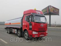 Jiulong ALA5310GRYC4 flammable liquid tank truck