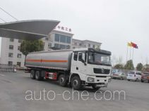 Jiulong ALA5310GRYSX5 flammable liquid tank truck