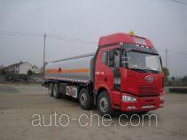 Jiulong ALA5311GRYC4 flammable liquid tank truck