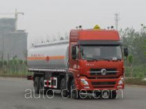 Jiulong ALA5311GRYDFL3 flammable liquid tank truck