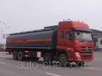 Jiulong ALA5311GRYDFL4 flammable liquid tank truck