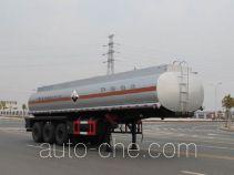 久龙牌ALA9403GFW型腐蚀性物品罐式运输半挂车