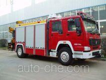 鲸象牌AS5143TXFJY120型抢险救援消防车