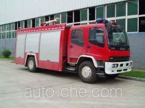 Jingxiang AS5155GXFPM50 foam fire engine