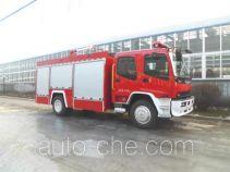 Jingxiang AS5155GXFPM50W foam fire engine