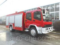 Jingxiang AS5155GXFSG50W fire tank truck