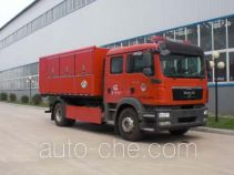 Jingxiang AS5169TXFZX90 hydraulic hooklift hoist fire truck