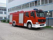 Jingxiang AS5193GXFPM80 foam fire engine