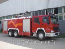 Jingxiang AS5243GXFPM100 foam fire engine