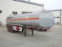 Shengde ATQ9340GHY chemical liquid tank trailer