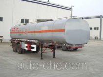 Shengde ATQ9351GHY chemical liquid tank trailer