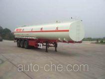 Shengde ATQ9400GHY chemical liquid tank trailer