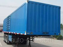 Shengde ATQ9400XXY box body van trailer